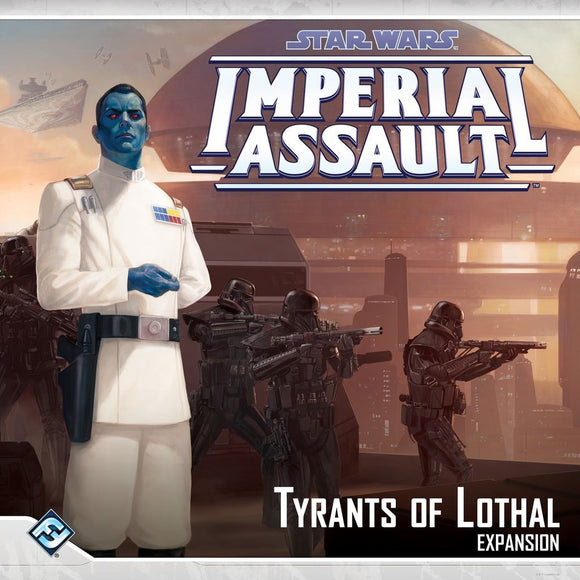Front cover of the box of Star Wars: Imperial Assault Tyrants of Lothal
