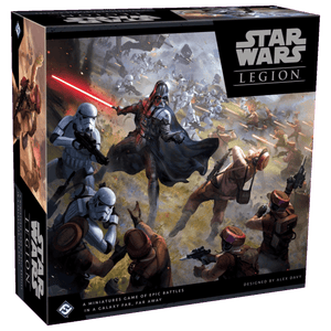 Front cover of the box of Star Wars: Legion