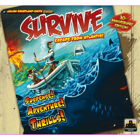 Survive: Escape from Atlantis! (30th anniversary edition)