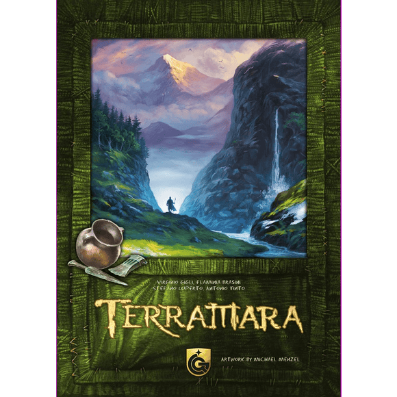 Front cover of the box of Terramara