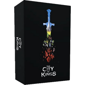 Front cover of the box of The City of Kings