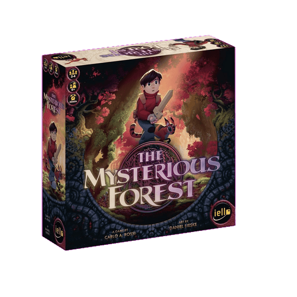 Front cover of the box of The Mysterious Forest