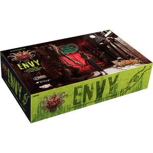 Front cover of the box of The Others: 7 Sins – Envy Expansion