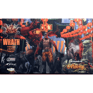 Front cover of the box of The Others: 7 Sins – Wrath Expansion