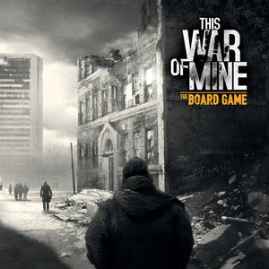 Front cover of the box of This War Of Mine: The Board Game