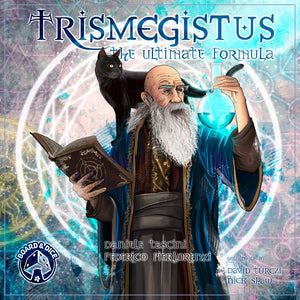 Front cover of the box of Trismegistus: The Ultimate Formula
