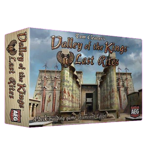 Front cover of the box of Valley of the Kings Last Rites
