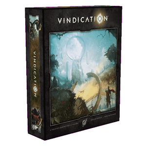 Front cover of the box of Vindication