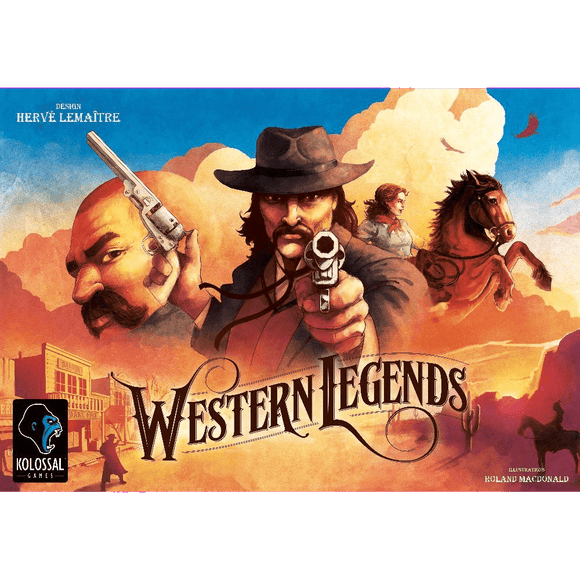 Front cover of the box of Western Legends