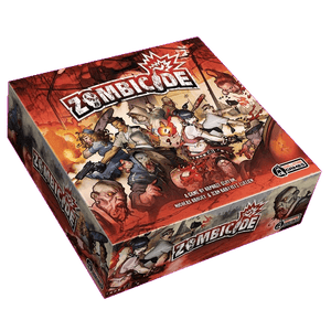 Front cover of the box of Zombicide