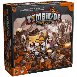 Front cover of the box of Zombicide: Invader