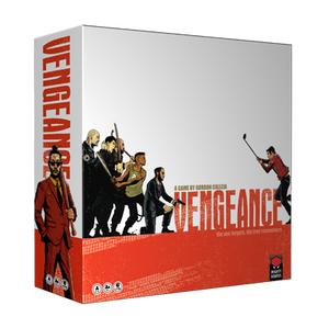 Front cover of the box of Vengeance
