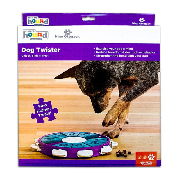 Nina Ottosson® Dog Twister Interactive Puzzle Toy