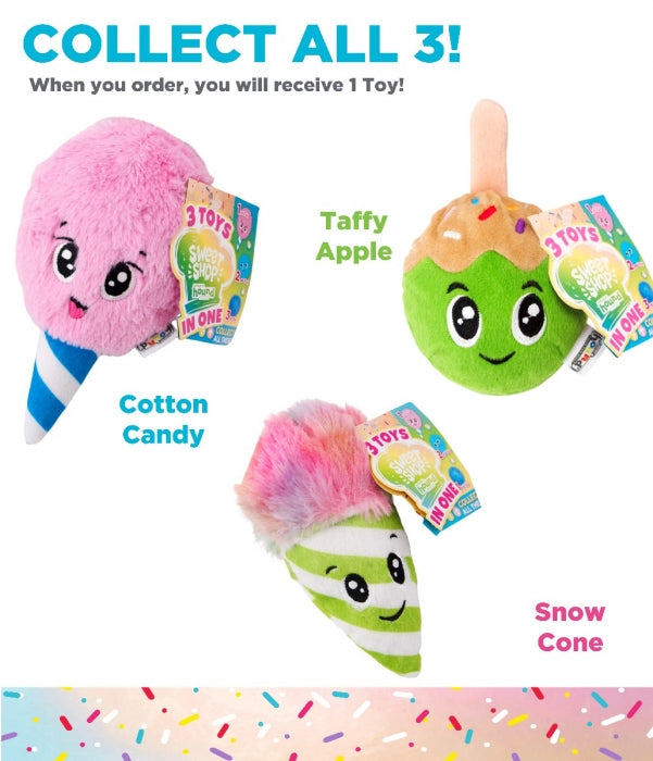 Surprise Destroy Them All Sweet Shop Dog Toy