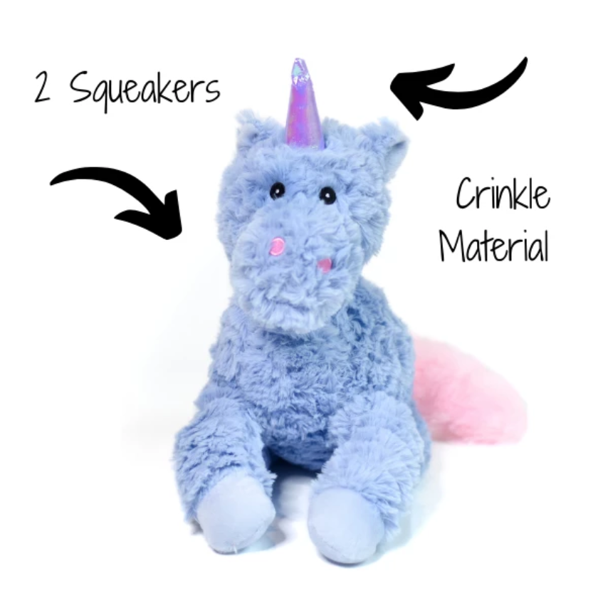 Patchwork Pet Pastel Unicorn 15""
