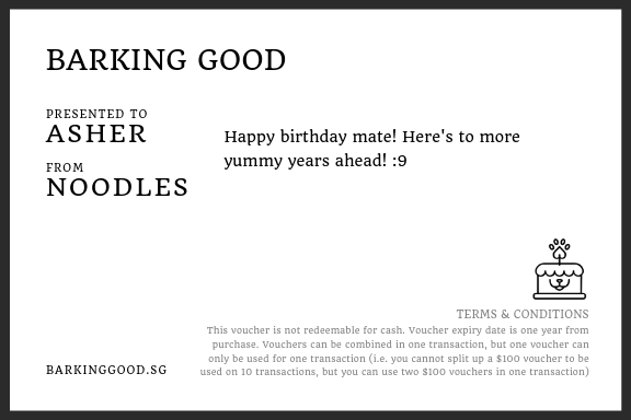 Barking Good E-Gift Voucher