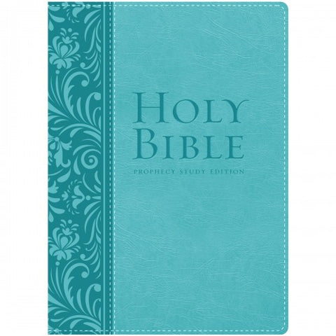 Prophecy Study Bible (Teal Leathersoft)