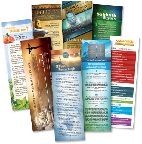Amazing Facts Bookmark Bundle by Amazing Facts