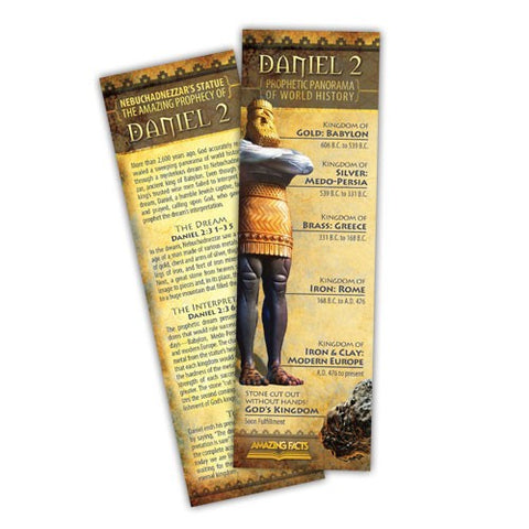 Daniel 2 Bookmark (25/Pack) by Amazing Facts