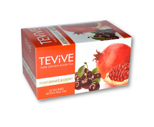 Pomegranate & Cherry - Case of 6 Boxes