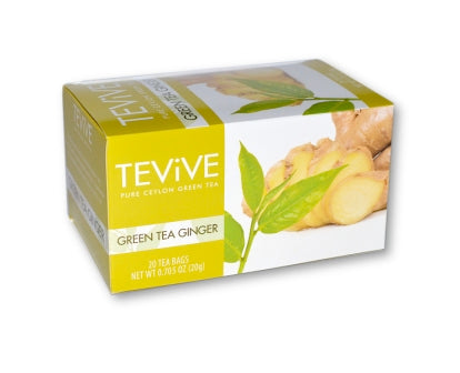Green Tea Ginger - Case of 6  Boxes