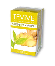 Load image into Gallery viewer, Green Tea Ginger - Case of 6  Boxes