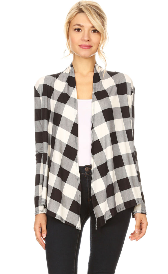 Buffalo Plaid Cardi - LAST ONE!