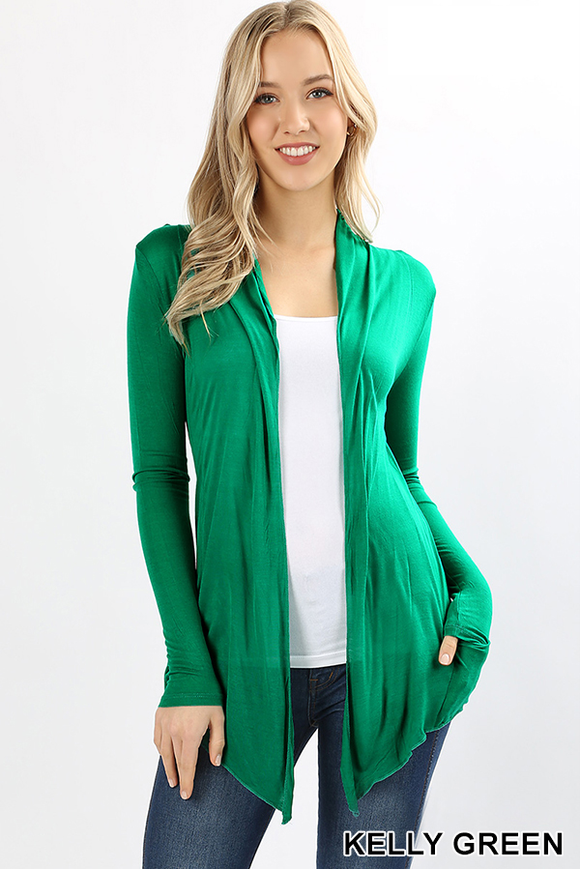 Summer Nights Cardi - Kelly Green
