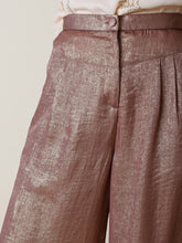 Load image into Gallery viewer, Indi & Cold Metallic Crop Trousers