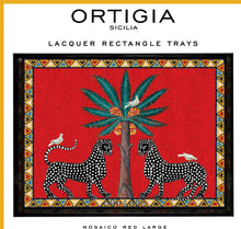 Load image into Gallery viewer, Ortigia Rectangle Lacquered Tray
