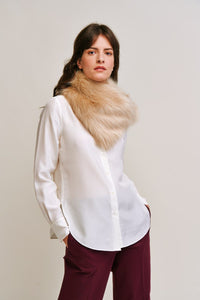 Asymmetric Scarf by Helen Moore Sale £43 now £30