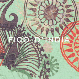 Ortigia Fico d'India Glass Plate & Soap
