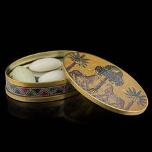 Load image into Gallery viewer, Ortigia Oval Tin of 4 soaps