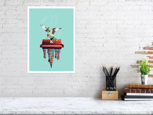 "Load image into Gallery viewer, ""LET THE MUSIC PLAY"" #13