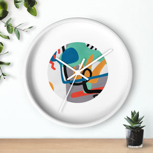"Wall Clock- ""Tossa De Mar"""