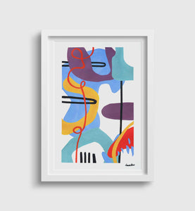 "Original Artwork | Paper Works 1/3 ""Jazzonic"""