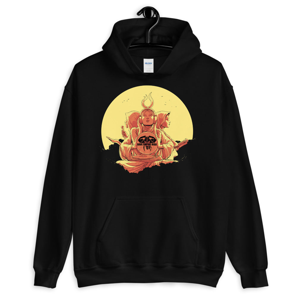 Rave Empire Riga - Festive Rave Hoodie - RAVE EMPIRE RIGA