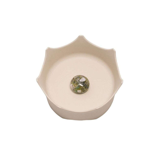 CrownJuwel Pet Bowl - Natural White