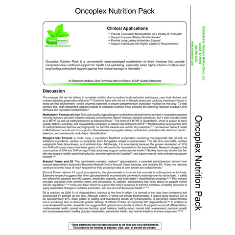 Oncoplex Nutrition Pack