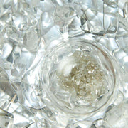 Via DIAMONDS Gem Water Bottle - DIAMOND SLIVERS // CLEAR QUARTZ
