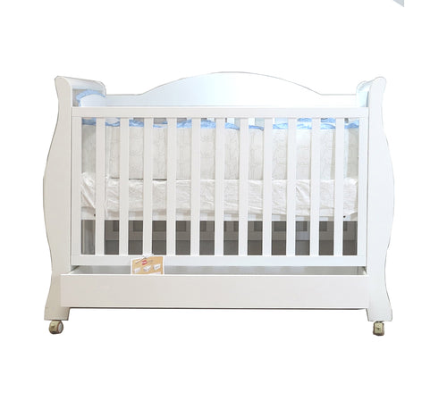 Babyworth  B3R Royal Sleigh Cot  with Mattress