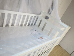 Babyworth Sleigh Cot with Mattress, Chest and Change Table with Pad Package