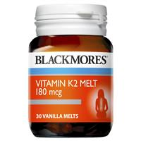 Blackmores K2 180mcg 30 Melts