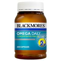 Blackmores Omega Daily 200 Capsules