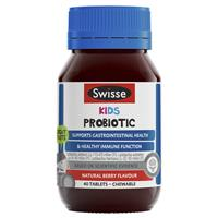 Swisse Kids Probiotic 40 Chewable Tablets