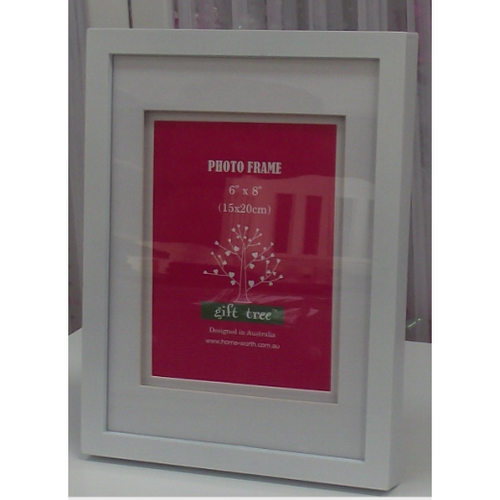 Homeworth BOX MAT WINDOW PHOTO FRAME ITEM No. MPH25A 6X8
