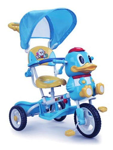 Aussie Baby A27-3 Duck Tricycle - Blue