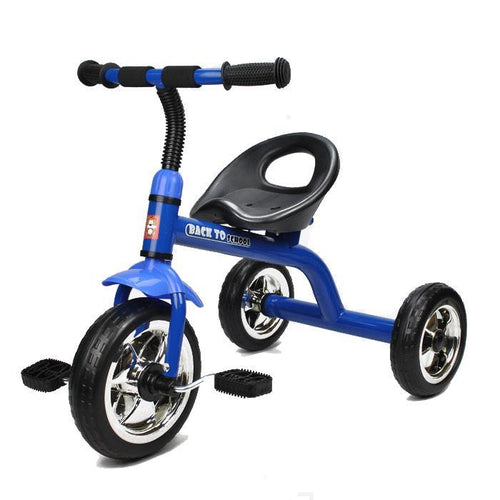 Babyworth Back To School Tricycle - Blue -Pink-Red