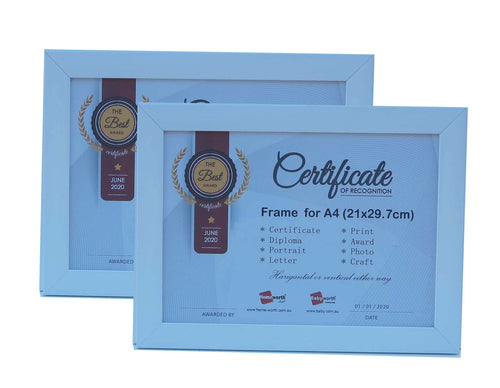 Picture Frame For Photo / Picture / Certificate  Size A4 ( 21x29.7 cm ) X2