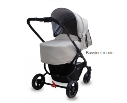 Valco Baby  Snap Ultra Pram Bamboo Grey Denim With Option Accessories